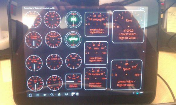 Just got my torque app all dialed in on my HP Touchpad.