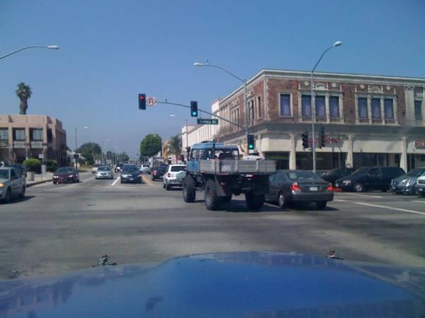 Beastly diesel mercedes unimog truck