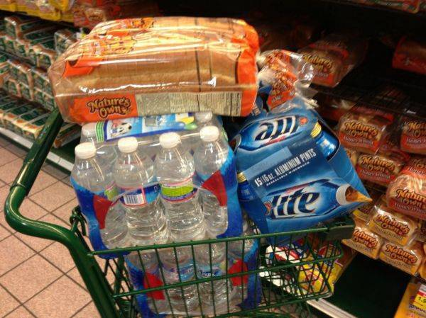 Hurricane survival kit!!