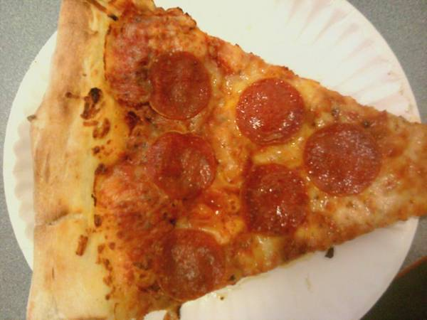 Good ol american pizza for dinner... :D The greasier the better... (for can
