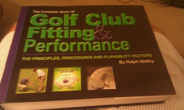 750 pages of how to fit someone for a club.