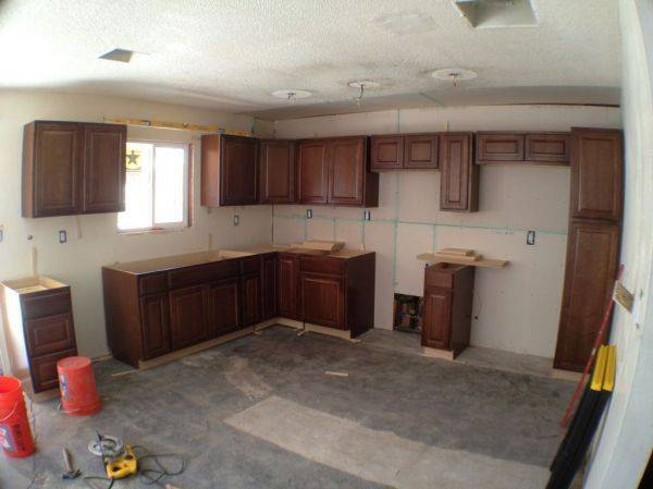 Kitchen that I am remodeling is coming together!