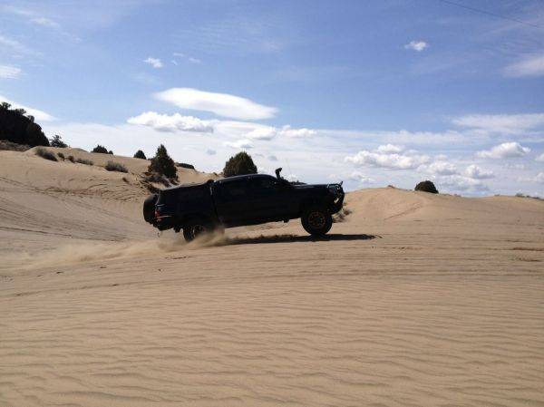 Some fun in the sand!