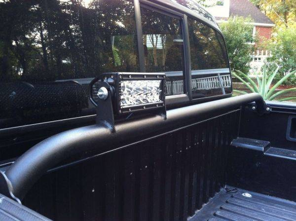 Pelfreybilt bed light bars on sale page 2 tacoma world here is a slick setup that 09blacktaco did he ordered a blank bar and added tabs for a rigid e series looks great and will certainly ward off any would be aloadofball Gallery