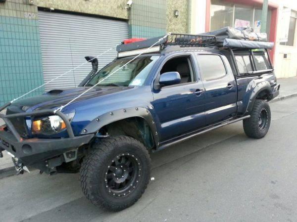 Toyota tacoma expedition vehicle car interior design