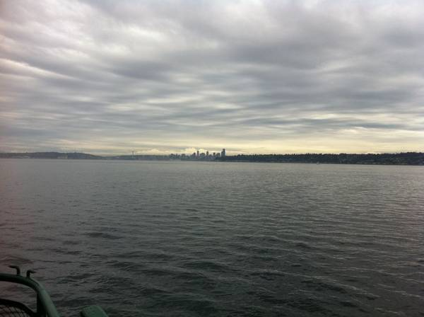 Seattle from the MV Kitsap