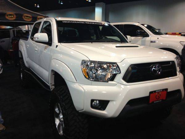 High country 4x4 at the Denver auto show