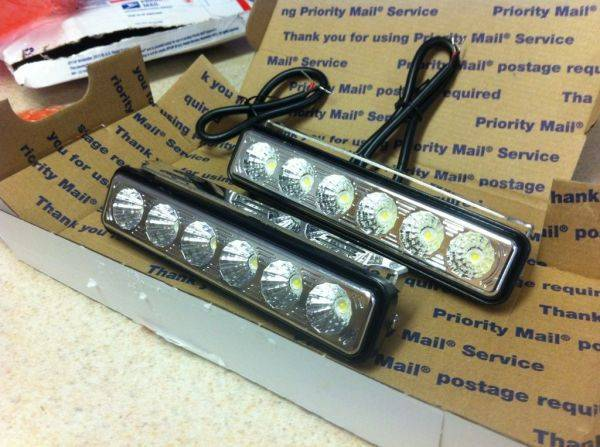 Woot! Fog lights finally.�