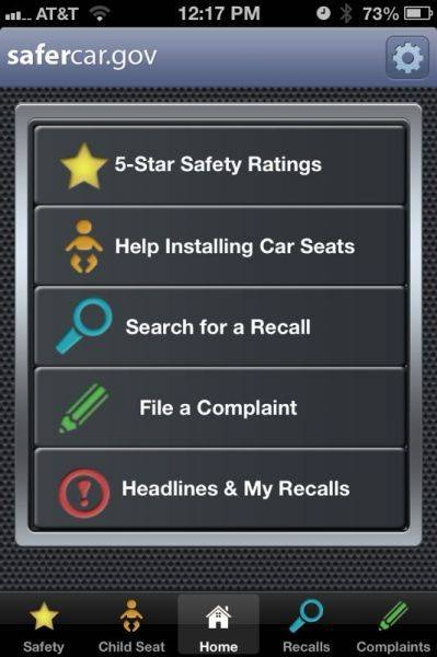 Anyone tried the safercar app? It show recalls and some other items not sur