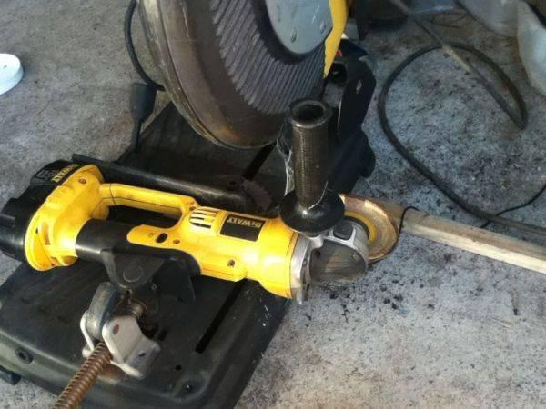 My grinder setup