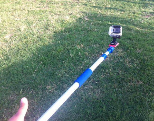 DIY gopro stick made for $10