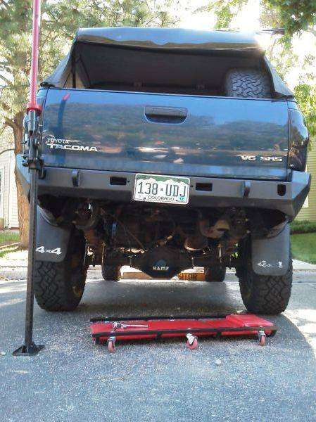Show off your rear plate bumpers! | Tacoma World