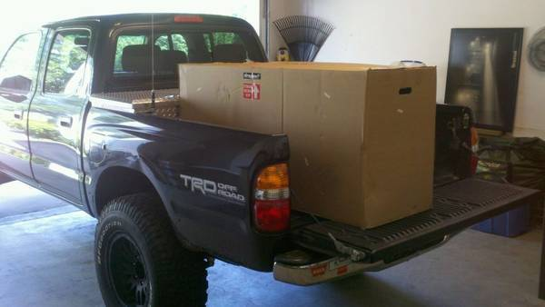 Hmm .....what's in da box for the Tacoma?