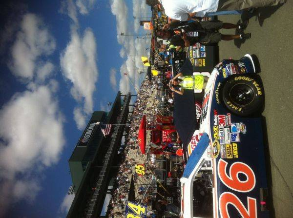 Pit row :woot: