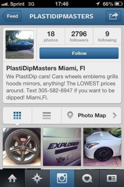 Lol PlastDip service!