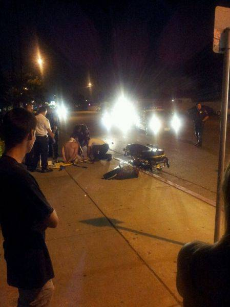 Another idiot drunk driver getting arrested after wrecking