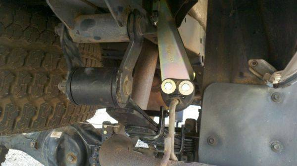 Exhaust relocate on just waiting for the carrier bearing drop to get the sh