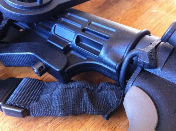 Magpul ASAP installed. Piece of cake with an armorers wrench.