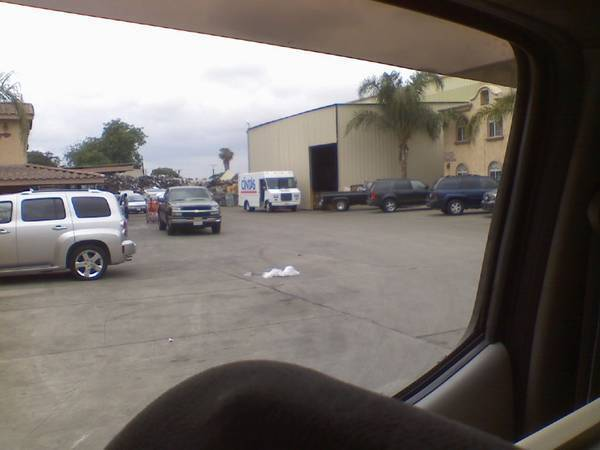 at a scrap yard. found 2 95.5-00 hoods. wanted 4 runner hood :D