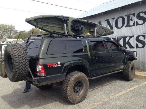 12ft Kayak On Cab Or Shell Tacoma World