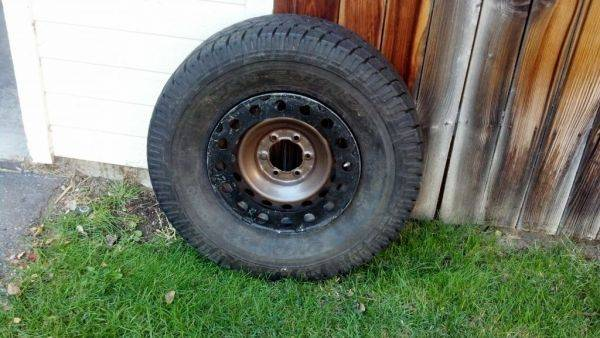 285/75r17 toyo at on fj steelie with rockring