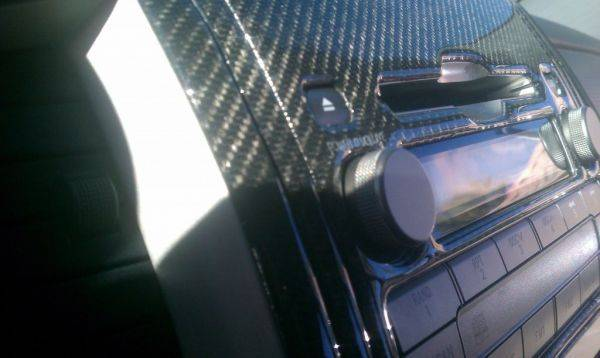 Carbon fiber dash kit. More pics to come later ;-)