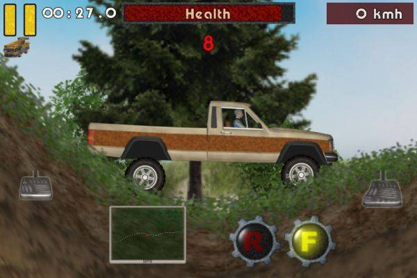 Pos 2 wheel drive haha this game is kinda fun haha!