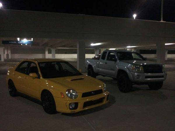 Me and my friends WRX