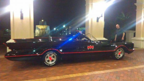 Fuckin' Batmobile bitches