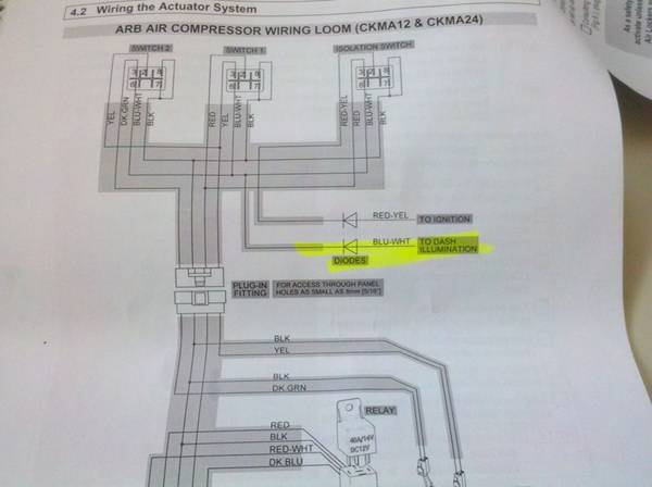 arb air locker wiring diagram arb image wiring diagram wiring diagram for arb rocker switch images on arb air locker wiring diagram