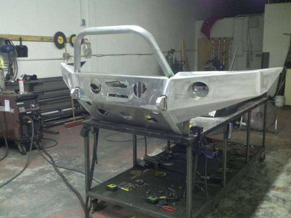 Ink junky's bumper 99% done. :)