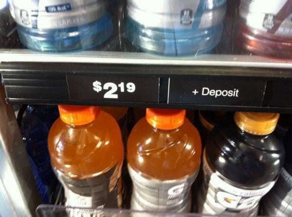 Plus deposit .....wtf Cali