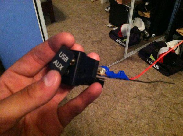 Not going out tonight...so working on a USB charger port for the truck :spy