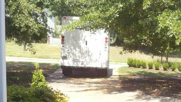 Uh oh. Fed ex just pulled up. :-)