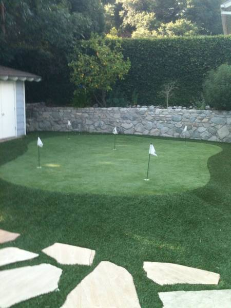 Putt around a little after dinner. It's a beautiful day in socal�