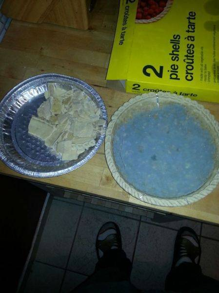 This message is brought to you by Rogers Gotta love ready made pie shells..
