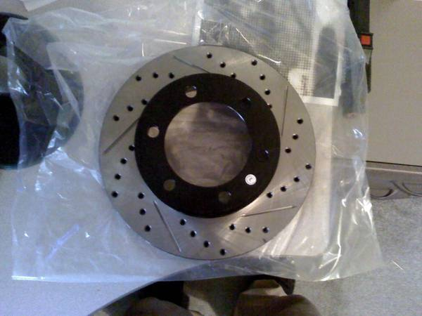 Woooot new rotors