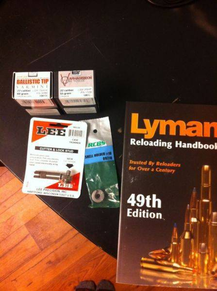 Got the last of my reloading stuff in. Now the fun begins!