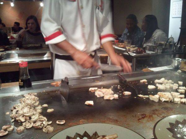 At benihana