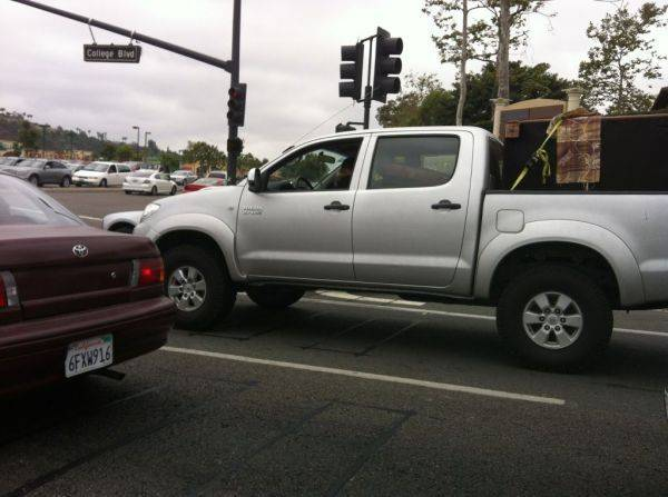 Hilux in San Diego.�