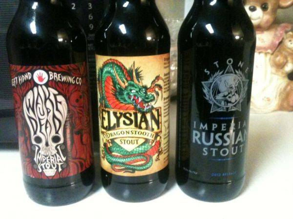 The Russian imperial stout is 10.5%.... :cool: