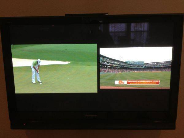 Masters on the same time as the sox? Directv genie ftw