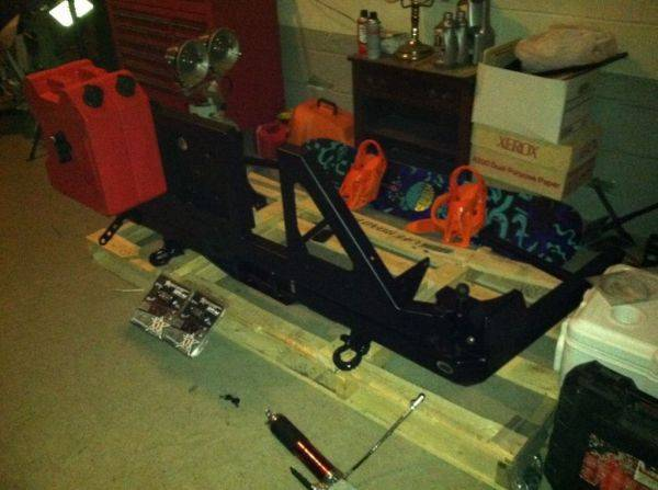 Cbi bushmaster rear bumper. Getting it all put together