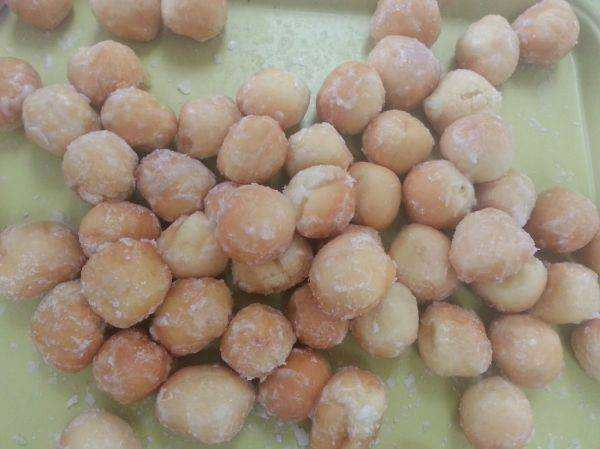 A picture of my warm� Sticky balls! From my Android phone on T-Mobile. The