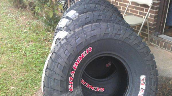New tires 35/12.50/15