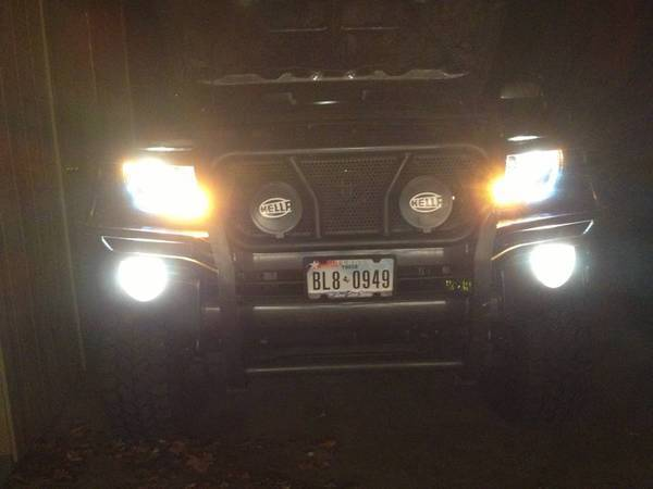 New Halo LED Projector Spyder headlights