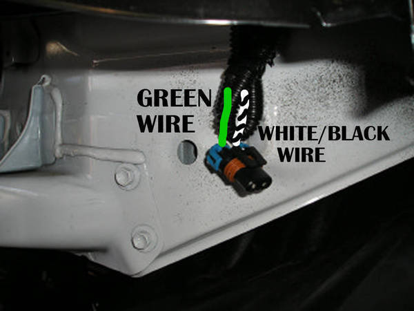oemwire oem fog light wiring to aftermarket light assembly tacoma world Toyota Tacoma Fender Liner at nearapp.co