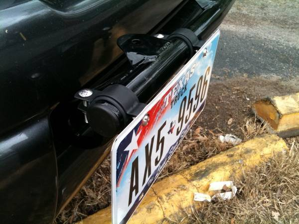 Quot No Drill Quot Front License Plate Mount Tacoma World