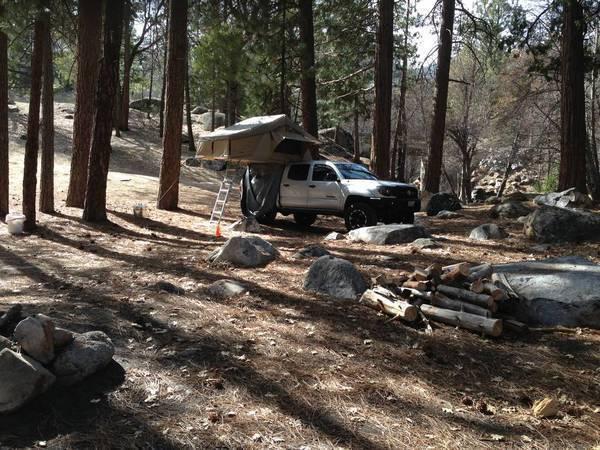 Camping Kern River