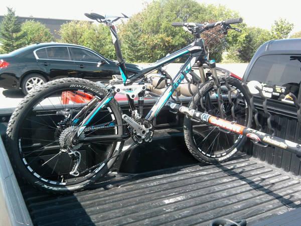 Truck Bed Bike Rack Ideas
